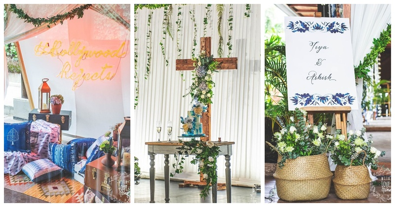 This Christian Wedding had Understated yet Ethereal Decor