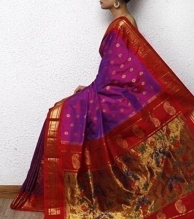 Paithani from Maharashtra