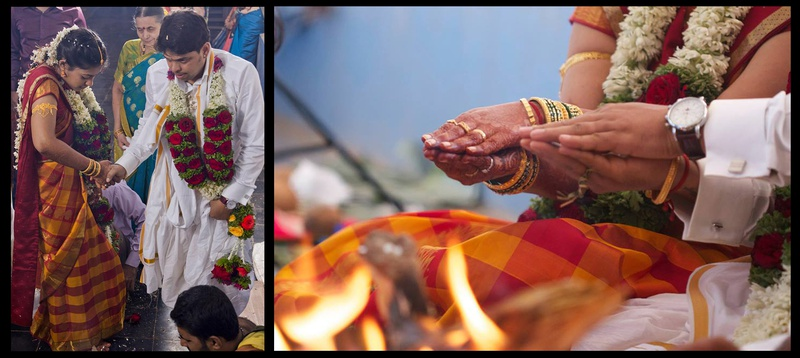 Arvind & Shama Mumbai : A Simple and Traditional South-Indian Wedding Ceremony