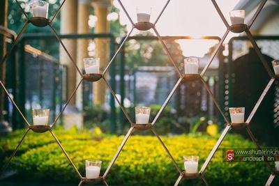 Tea-light candle decor