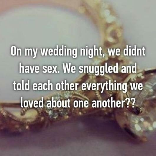 WEDDING NIGHT CONFESSIONS