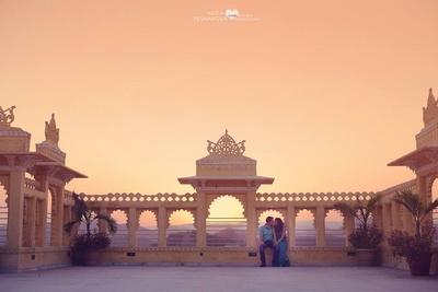 Jacob and Swati's pre wedding shoot held at Chunda palace, Udaipur.