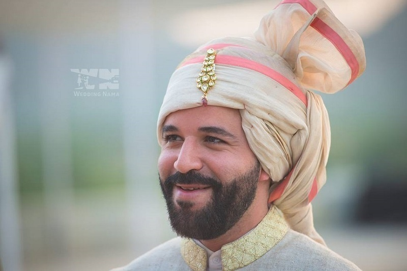5. Groom all suited up: