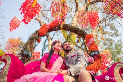 gorgeous mehndi decor ideas for the bride and groom