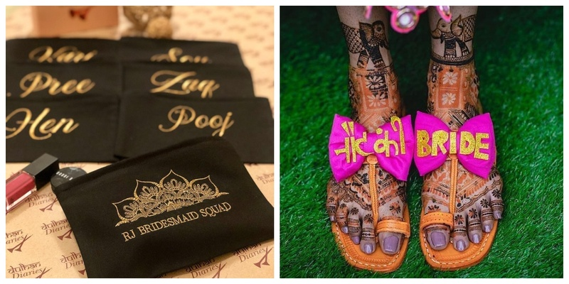 10 Quirky and Personalised Accessories for the Wedding Squad!