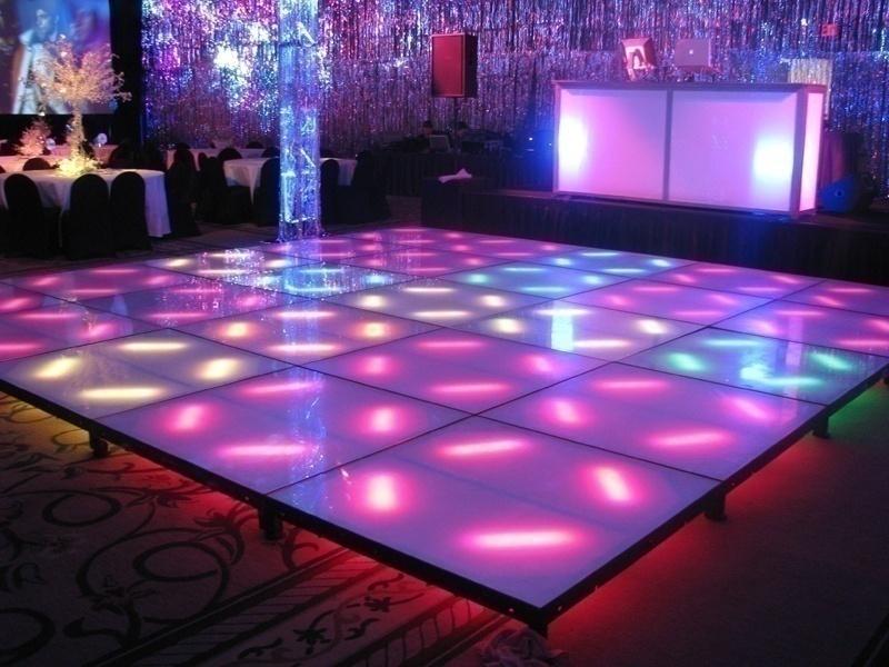 Dance floor ideas to make your cocktail reception or for Halloween dance floor ideas