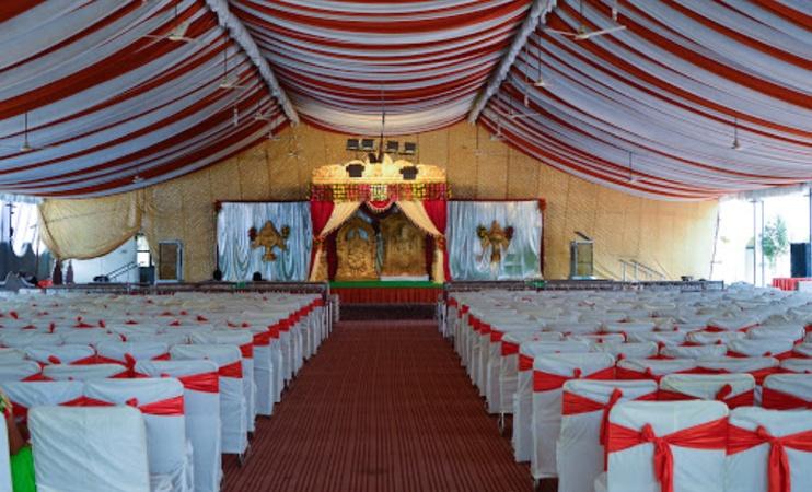 Sarojini Gardens Function Hall Jeedimetla Hyderabad - Banquet Hall