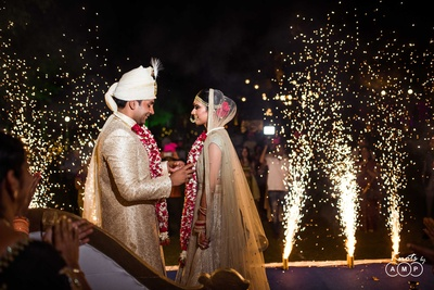 Grand celebration of the wedding at Bal Samand Lake Palace, Jodhpur