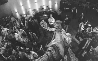 Creative wedding photography by Candid Kliks