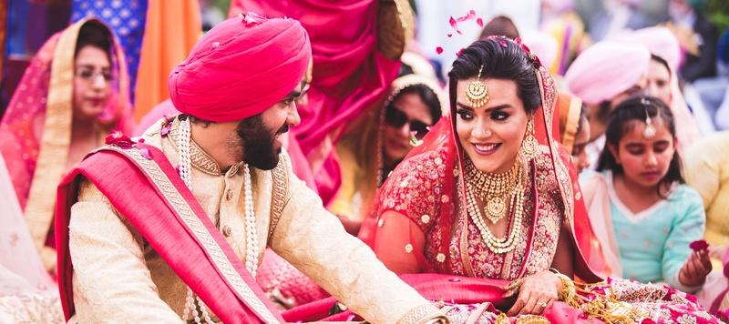 Zoravar & Ankieta Delhi : Grand Sikh Wedding held at Calista Resorts, Delhi planned by Weddingz.in