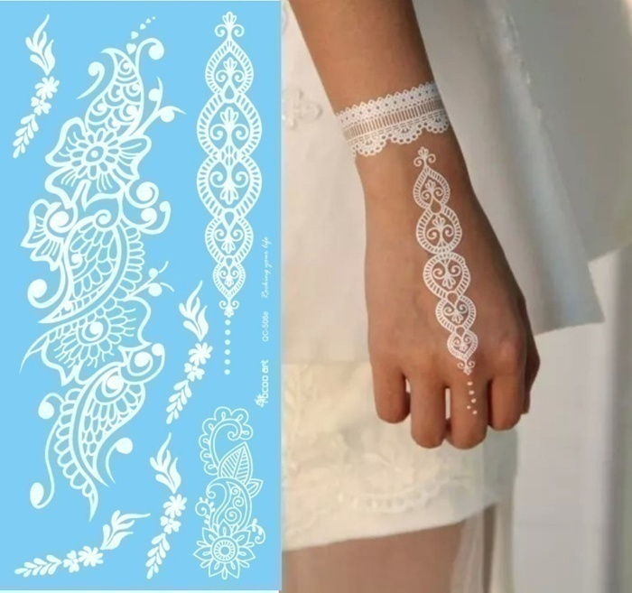 White Henna Tattoos – A Replacement of Traditional Henna Designs?