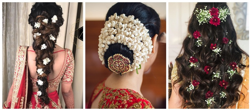 10 Floral accessories to amp your wedding hairstyles!