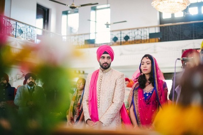 The Sikh wedding ceremony of Ravi and Dayoung