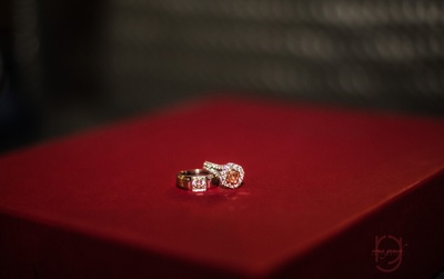 Gorgeous rings for the engagement ceremony