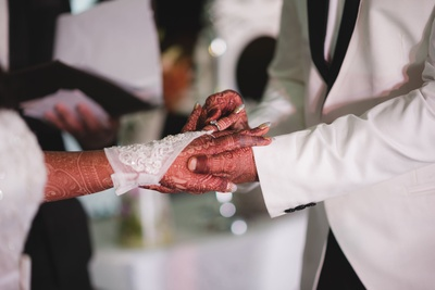 Ring ceremony.