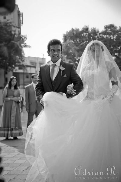 Fluffy white wedding dresses