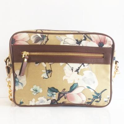 Princesse K Floral Beige Pashmina Sling Bag