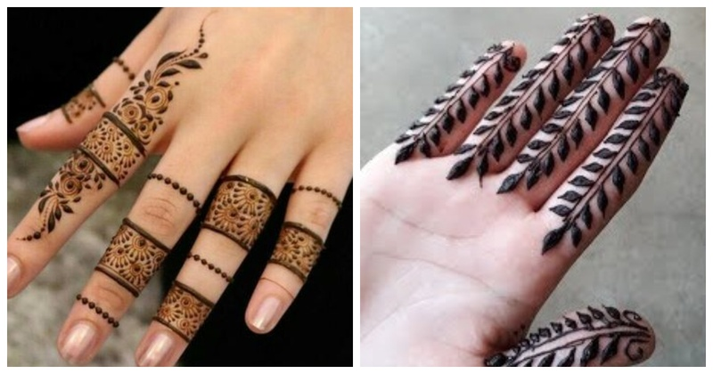 10 Gorgeous Mehendi Designs for Your Fingers