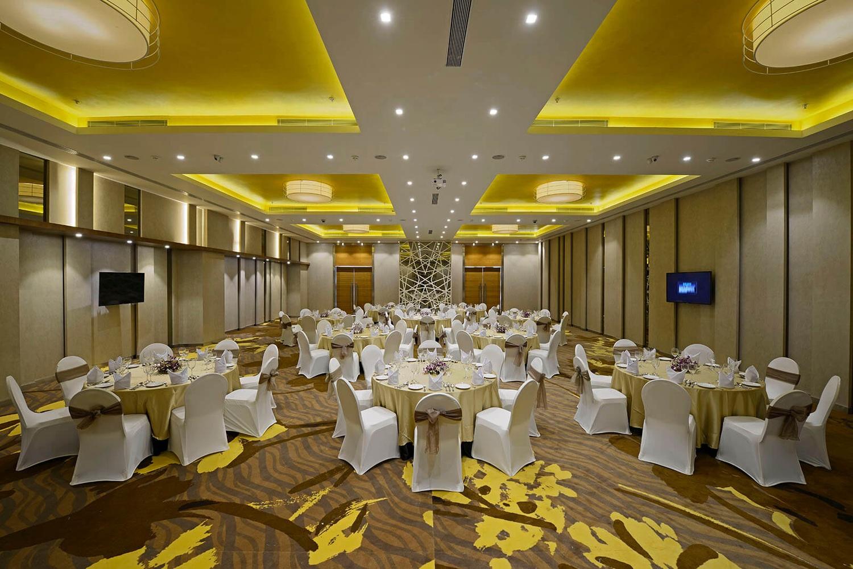 Caspia Hotel S G Highway Ahmedabad Banquet Hall