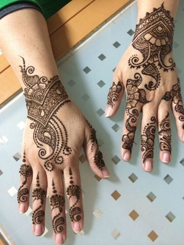 Best Arabic Bridal Mehndi Designs That Are Effortlessly Gorgeous Blog