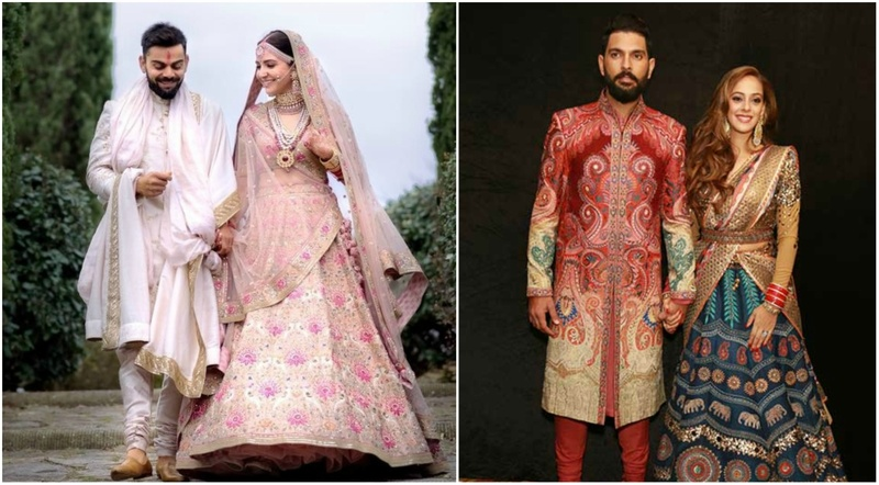 10+ trending colour combinations for bride and groom that