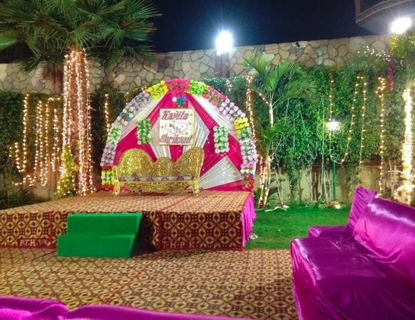 Deep and Deep Brothers Vatika Pandwalan Kalan Delhi - Wedding Lawn