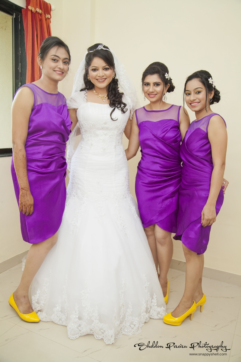 A Yellow And Purple Themed Multi-Cultural Wedding Ceremony | Weddingz.in