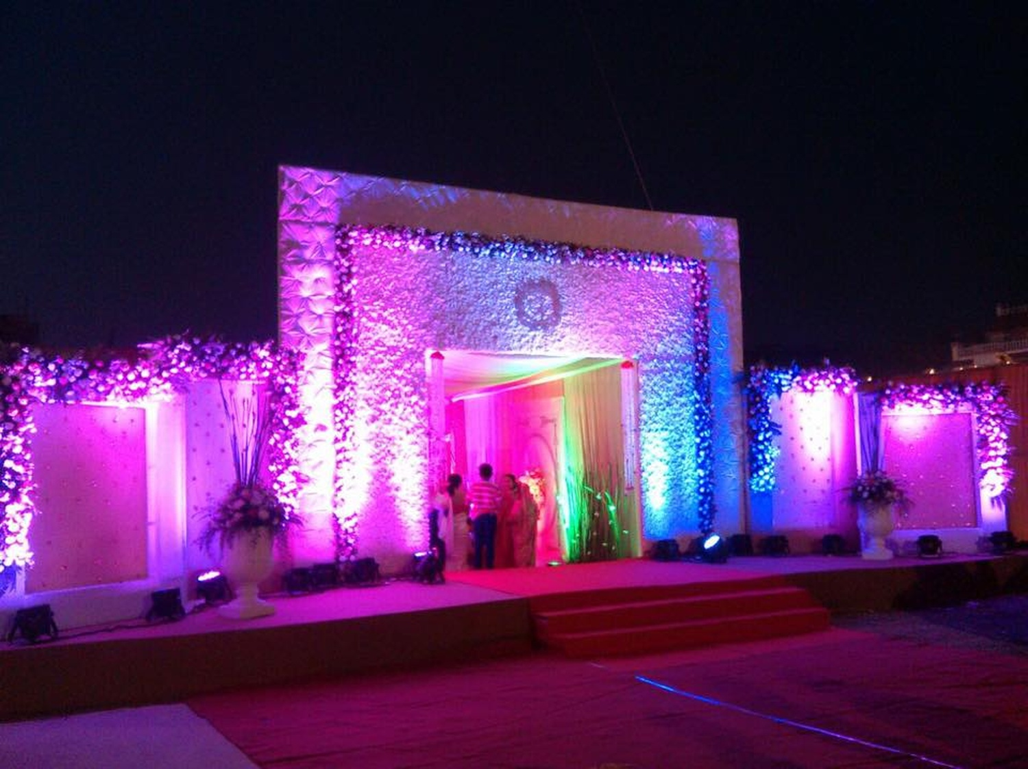 Shyam flower decorators wedding decorator in mumbai weddingz overview junglespirit Gallery