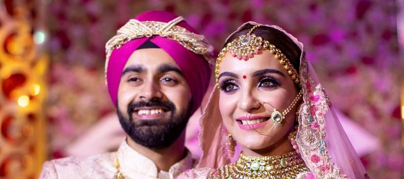Harkaran & Harsheen Delhi : The Punjabi Royal Wedding