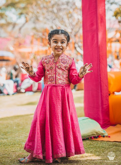Overload of cuteness in the Mehndi function