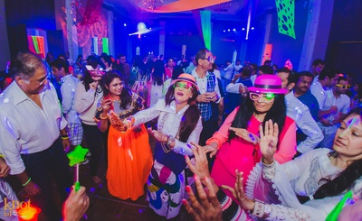 LED Reception party being held at the Sofitel Island Resort and Spa, Krabi Thailand