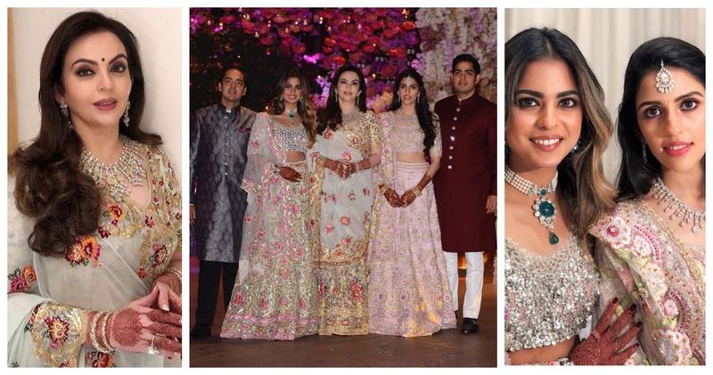Everything that went inside the star-studded Engagement of Akash Ambani and Shloka Mehta!