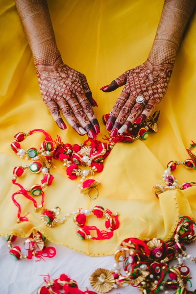 handi mehndi ideas for the bride to be