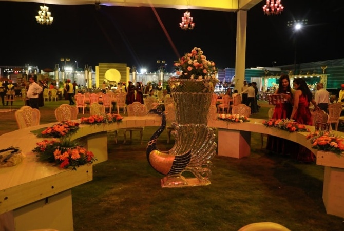 The Solitaire Garden and Banquet Pahada Udaipur - Banquet Hall