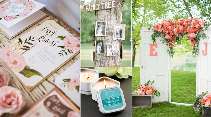 5 Great Ways to Personalize Your Wedding Décor, Props and more!