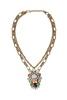 Nizanta Aztec Geometric Pendent Necklace image