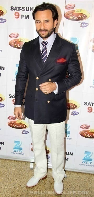 We Love Chotte Nawab Saif Ali Khan's Mix and Match Suit Style Too