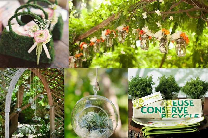 10 Savvy Ways to Have an Eco-Friendly or Green Wedding - Happy World Environment Day!