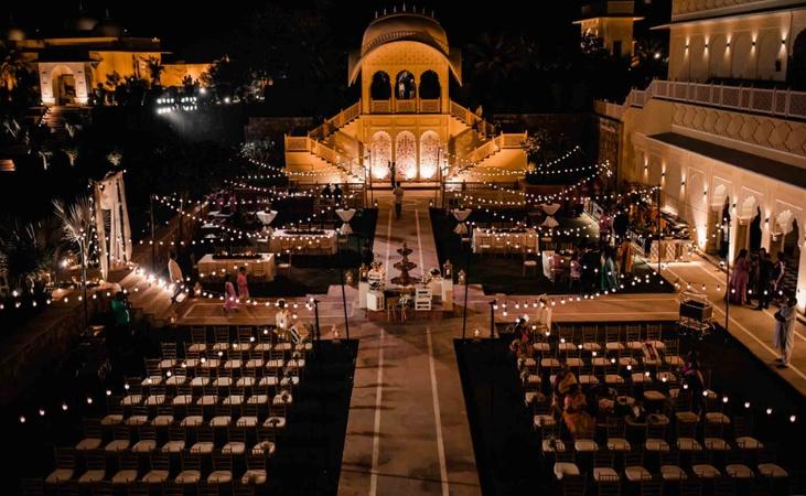 The Vijayran Palace by Royal Quest Resorts Kukas Jaipur - Banquet Hall
