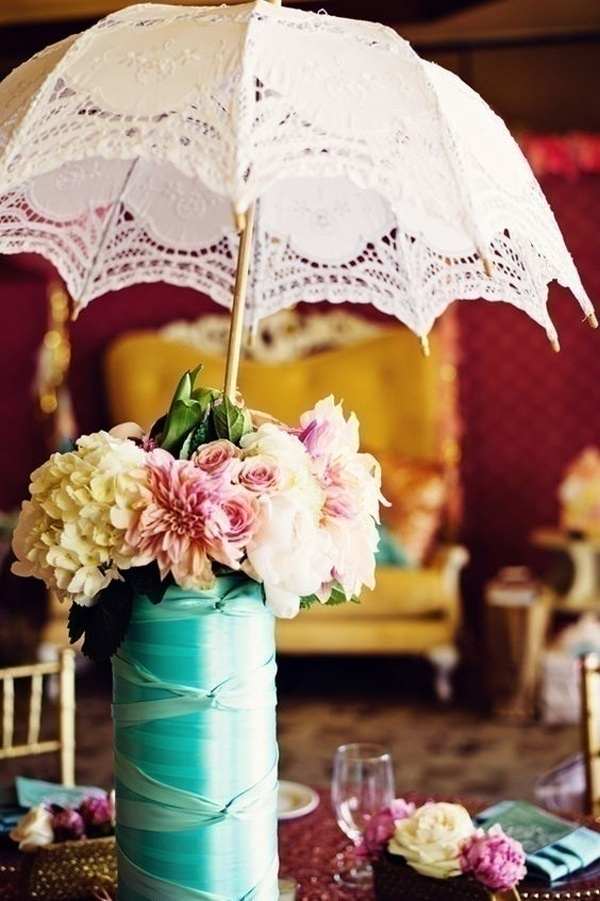 How To Use Umbrellas For Wedding Decor In A Fun Quirky
