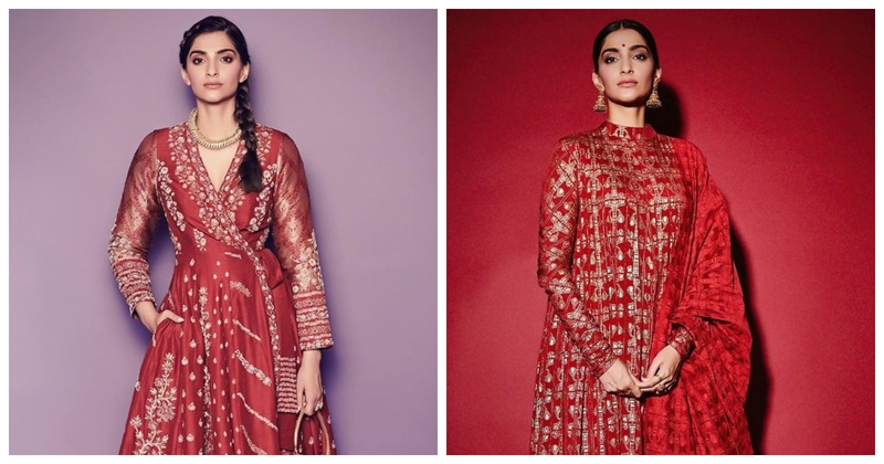 8 Ways Bridesmaids Can Sport the Red Look Like Sonam Kapoor