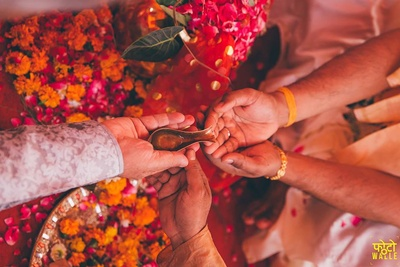 Wedding rituals.