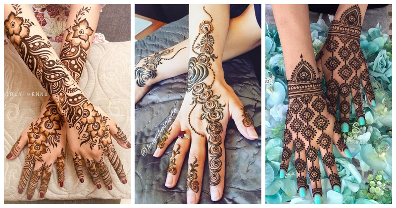 20+ Arabic Mehndi Design Images Which Are a Must See!