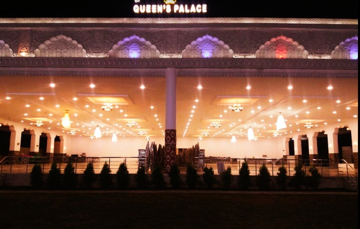 Queens Palace Kattedan Hyderabad - Banquet Hall