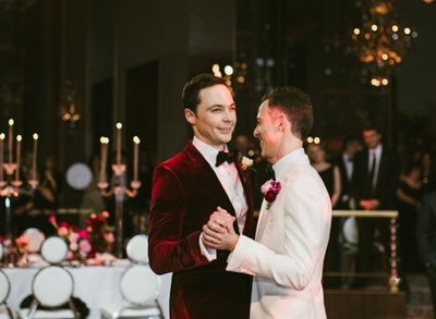 'The Big Bang Theory' Actor Jim Parsons Just Got Married To His Boyfriend of 14 Years!  #waytoocute