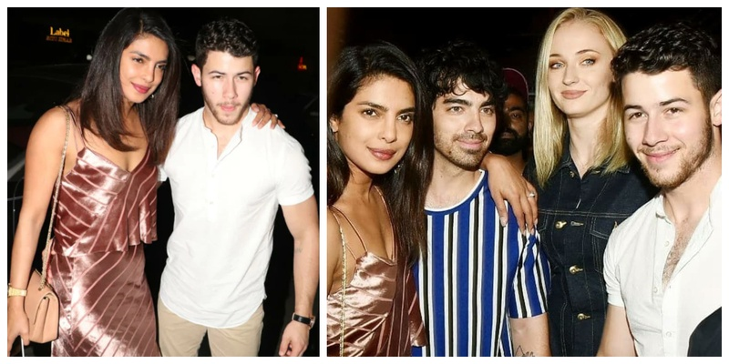 Priyanka Chopra, Nick Jonas kick off their Wedding Festivities with a Dinner party with Sophie Turner, Joe Jonas, Alia Bhatt and more!