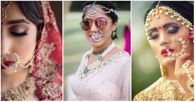 10 Most Unique Bridal Nose Rings We Saw On Instagram This Wedding Season