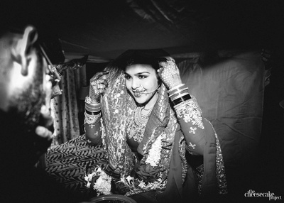 The nikah ceremony of Aftab and Kainaat