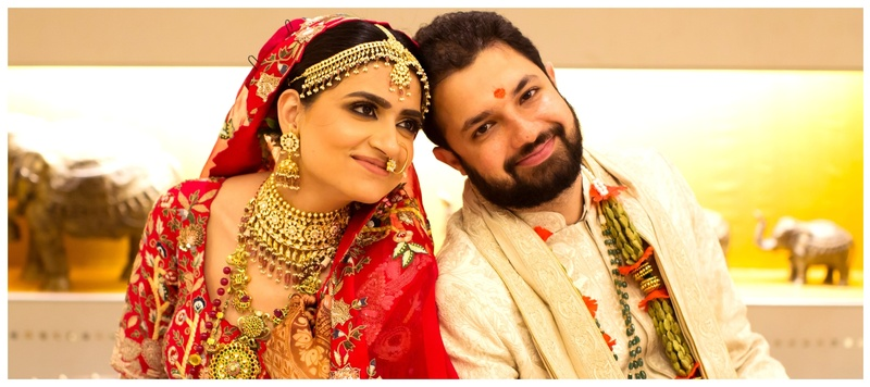 Manan & Yashika Delhi : This elegant and understated wedding is major inspiration for couples who like to keep it simple!