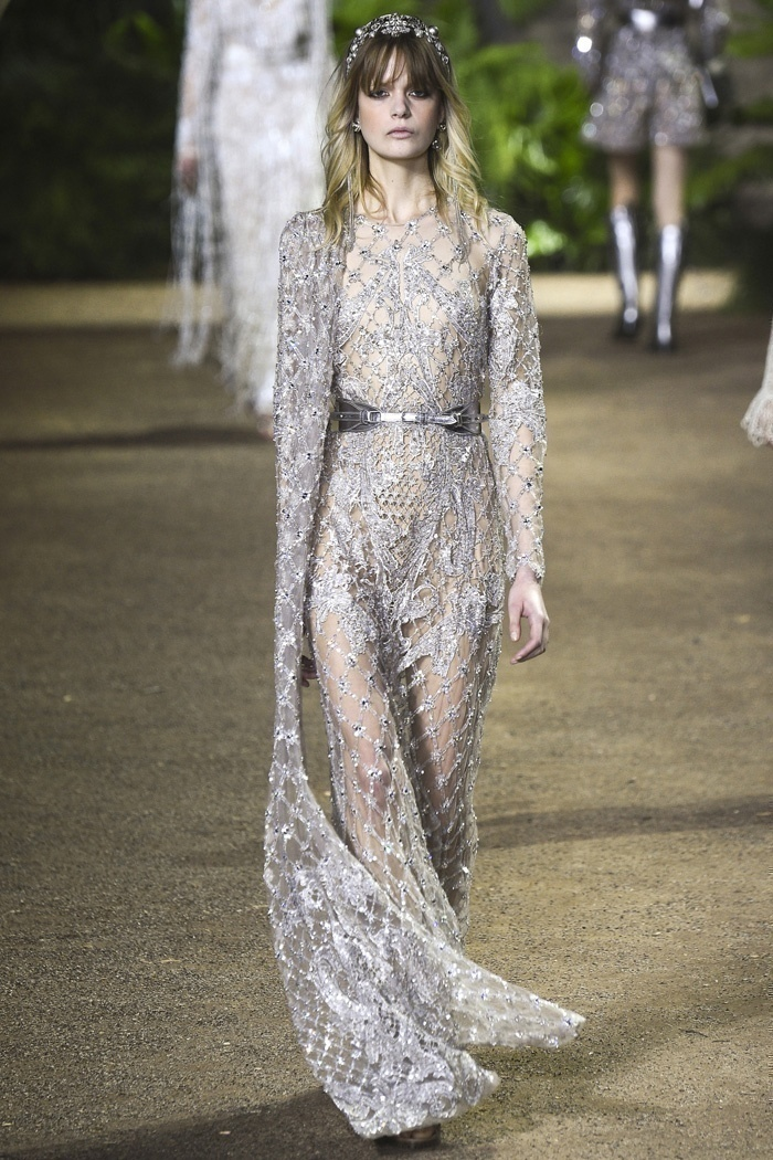 Enter India – Bridal Saree Inspired Fashion by Elie Saab Couture